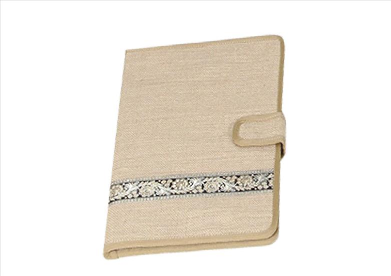 Basic Beige with Lace Handy Folder