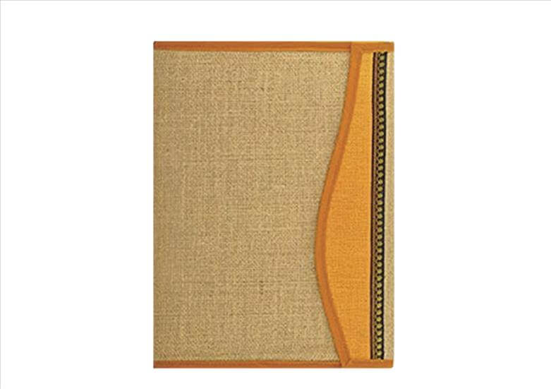 Orange and Beige Handy Folder
