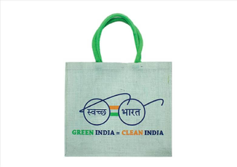 Green India Office Jute Bag